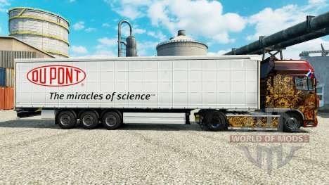 La peau Du Pont pour les remorques pour Euro Truck Simulator 2