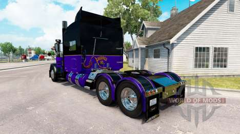La peau Haché 93 pour le camion Peterbilt 389 pour American Truck Simulator