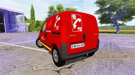 Peugeot Bipper SDIS pour Farming Simulator 2017