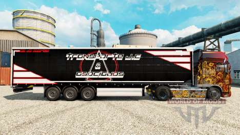 La peau Transporte J. C & Asociados pour les rem pour Euro Truck Simulator 2
