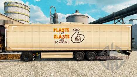 La peau Plaste und Elaste pour les remorques pour Euro Truck Simulator 2