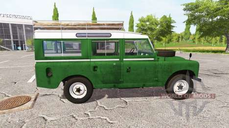 Land Rover Series IIa Station Wagon 1965 v2.0 pour Farming Simulator 2017