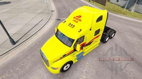 La peau Decker sur les camions Peterbilt 387 pour American Truck Simulator