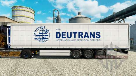 Skin on semi Deutrans pour Euro Truck Simulator 2