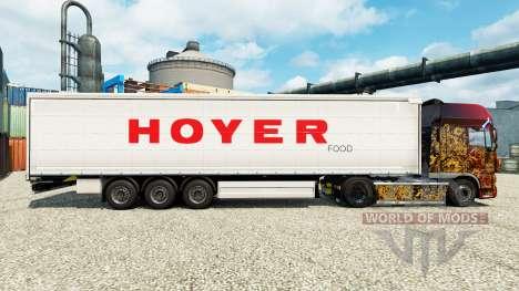 Hoyer Haut für Anhänger für Euro Truck Simulator 2