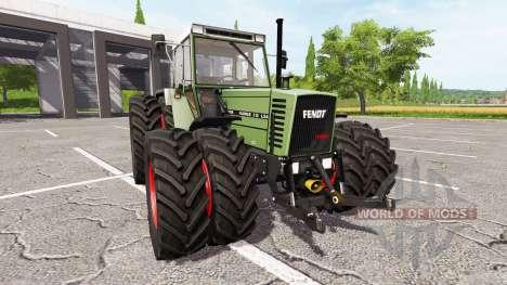 Fendt Farmer 312 LSA Turbomatik v1.0.1 pour Farming Simulator 2017
