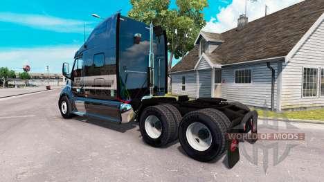Die Haut der Marder auf der Zugmaschine Peterbil für American Truck Simulator