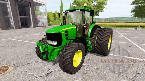John Deere 7430 Premium v1.1 pour Farming Simulator 2017