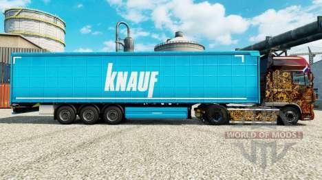 Skin Knauf on semi für Euro Truck Simulator 2