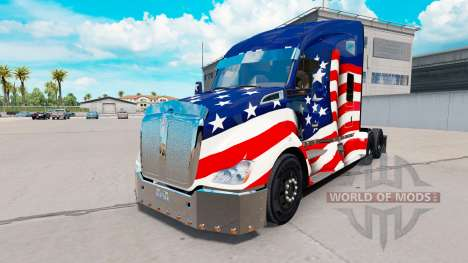 Tuning pour Kenworth T680 pour American Truck Simulator