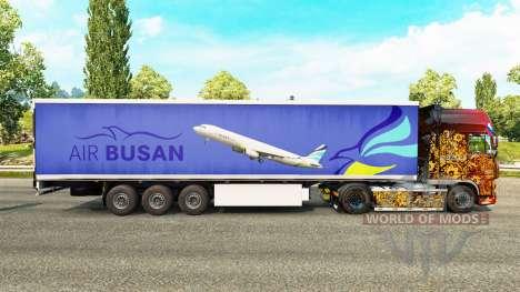 Peau Air Busan pour remorques pour Euro Truck Simulator 2