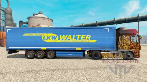 CAMION WALTER skin for bande-annonce pour Euro Truck Simulator 2