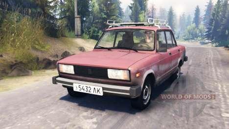 VAZ-2105 für Spin Tires