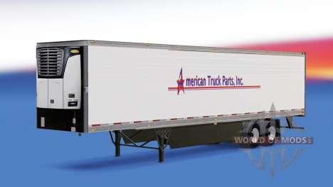 La Peau De L'Amérique Pièces De Camion Inc. sur  pour American Truck Simulator