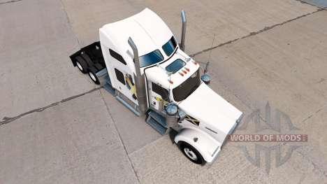 Haut-Schottland auf der LKW-Kenworth W900 für American Truck Simulator