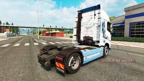 Die Vaya con Dios Haut für Volvo-LKW für Euro Truck Simulator 2