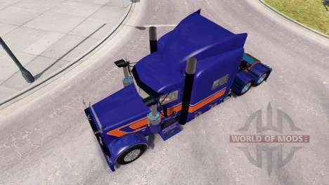 Rollin Transport skin für den truck-Peterbilt 38 für American Truck Simulator