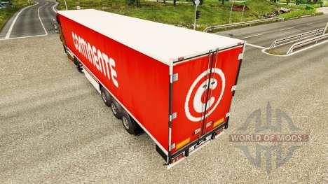Haut Continente für Anhänger für Euro Truck Simulator 2