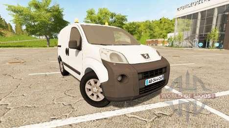 Peugeot Bipper v1.2 pour Farming Simulator 2017