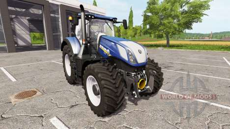 New Holland T7.315 blue power für Farming Simulator 2017