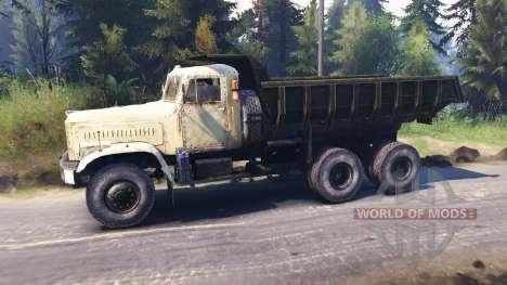 KrAZ-256-v1.1 für Spin Tires