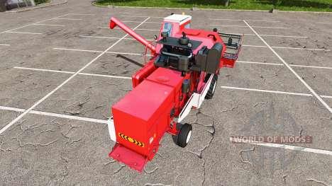 Rostselmash SK-5МЭ-1 Niva-Effekt rot für Farming Simulator 2017
