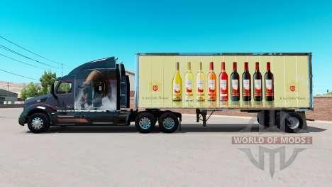 La peau de E. & J. Gallo Winery dans la petite r pour American Truck Simulator