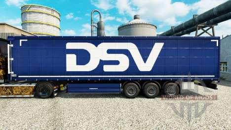 DSV Haut für Anhänger für Euro Truck Simulator 2