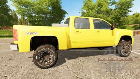 Chevrolet Silverado 3500 HD v2.0 pour Farming Simulator 2017