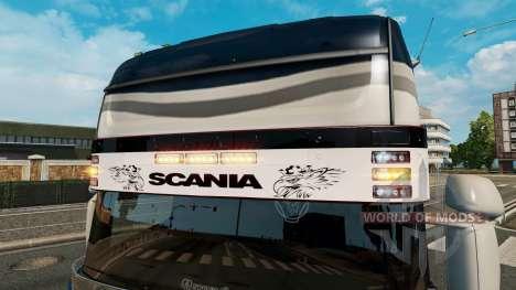 Pare-soleil Scania v2.0 pour Euro Truck Simulator 2