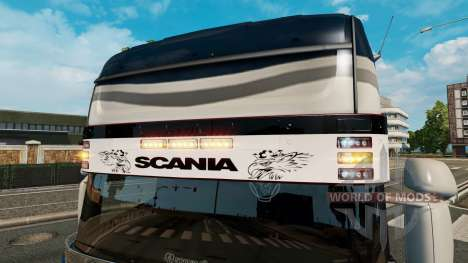 Sonnenblende Scania v2.0 für Euro Truck Simulator 2