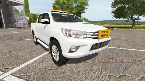 Toyota Hilux convoi agricole für Farming Simulator 2017