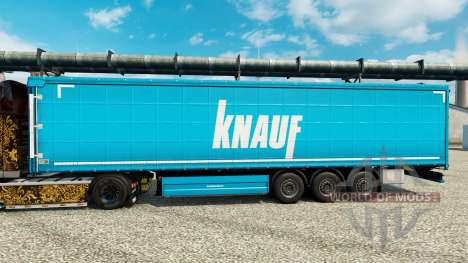 Skin Knauf on semi pour Euro Truck Simulator 2