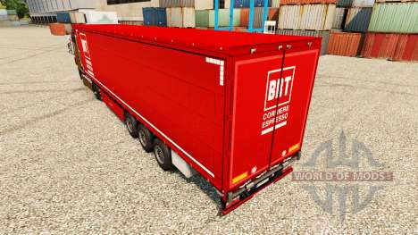 Haut BRT auf semi für Euro Truck Simulator 2