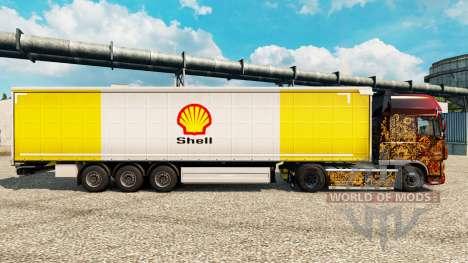 Haut Schale für semi-Trailer für Euro Truck Simulator 2