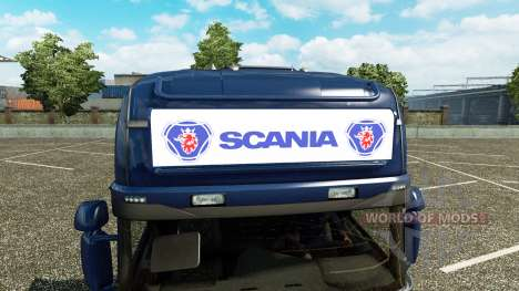 La publicité boîte à lumière pour Scania Streaml pour Euro Truck Simulator 2