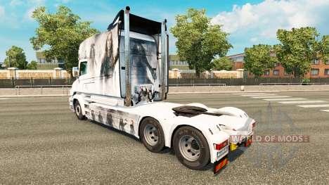Les Pirates de la peau pour camion Scania T pour Euro Truck Simulator 2