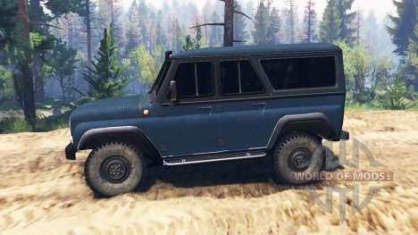 UAZ-3159 bars v2.0 für Spin Tires