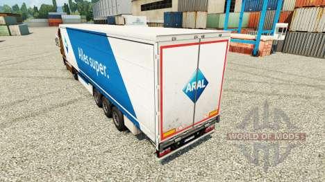ARAL de la peau pour les remorques pour Euro Truck Simulator 2