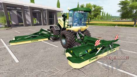 Krone BiG X 500 v1.5 pour Farming Simulator 2017