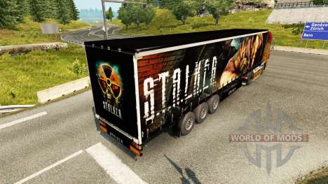 Haut S. T. A. L. K. E. R. auf semi für Euro Truck Simulator 2