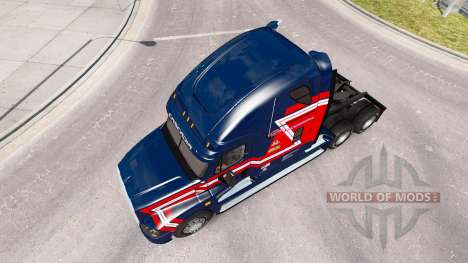 Скин Cargo Transporter на Freightliner Cascadia für American Truck Simulator