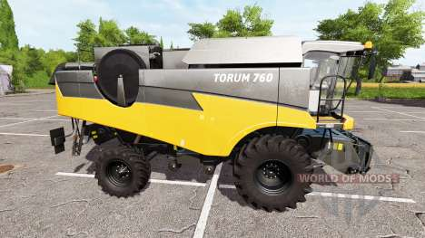 Rostselmash Tora 760 je orange pour Farming Simulator 2017
