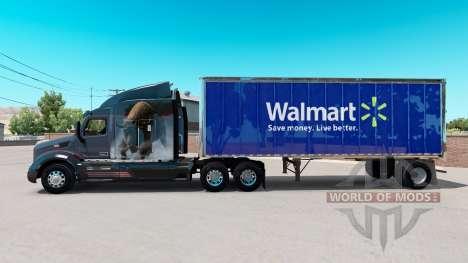 Haut Walmart in kleinen trailer für American Truck Simulator
