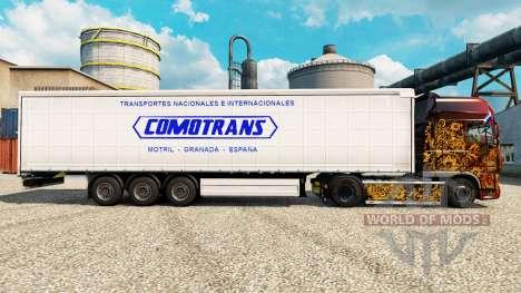 Haut ComoTrans für Anhänger für Euro Truck Simulator 2