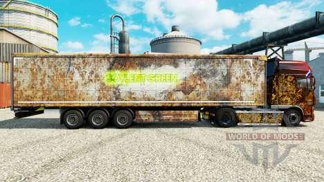 La peau Soylent Green pour les remorques pour Euro Truck Simulator 2