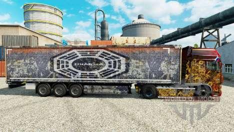 La DARPA de la peau pour les remorques pour Euro Truck Simulator 2