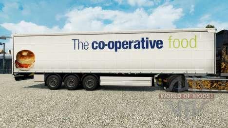La peau de La coopérative de la nourriture sur u pour Euro Truck Simulator 2