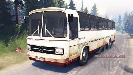 Mercedes-Benz O 302 (Br.302) pour Spin Tires
