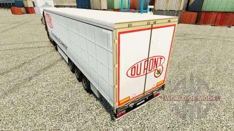 Haut Du Pont für Anhänger für Euro Truck Simulator 2